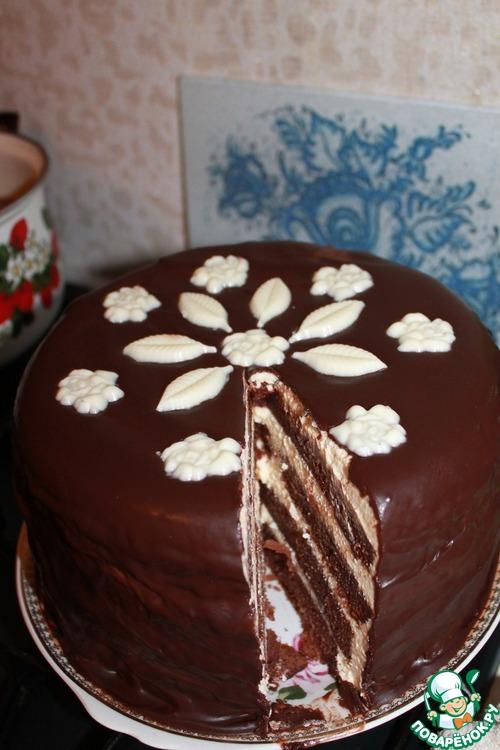 Торт на раз два три пошаговый рецепт с в мультиварке