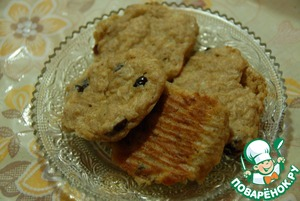 Рецепт Ржано-овсяное печенье для людей с диабетом тип 2