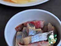 Блины с селедкой и яблоком ингредиенты