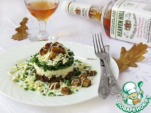 Рецепт Салат а-ля «Монте-Карло»