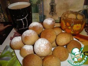 Рецепт Гречневые пряники с сушеными персиками
