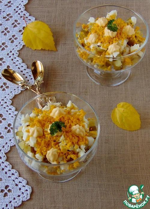 Салат с куриной грудкой - russianfood.com