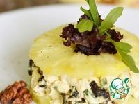 Салат из курицы с черносливом и ананасом ингредиенты