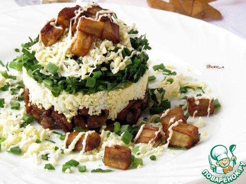Салат а-ля «Монте-Карло» – кулинарный рецепт