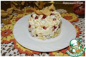 Рецепт Теплый салат с мини-фрикадельками и нутом