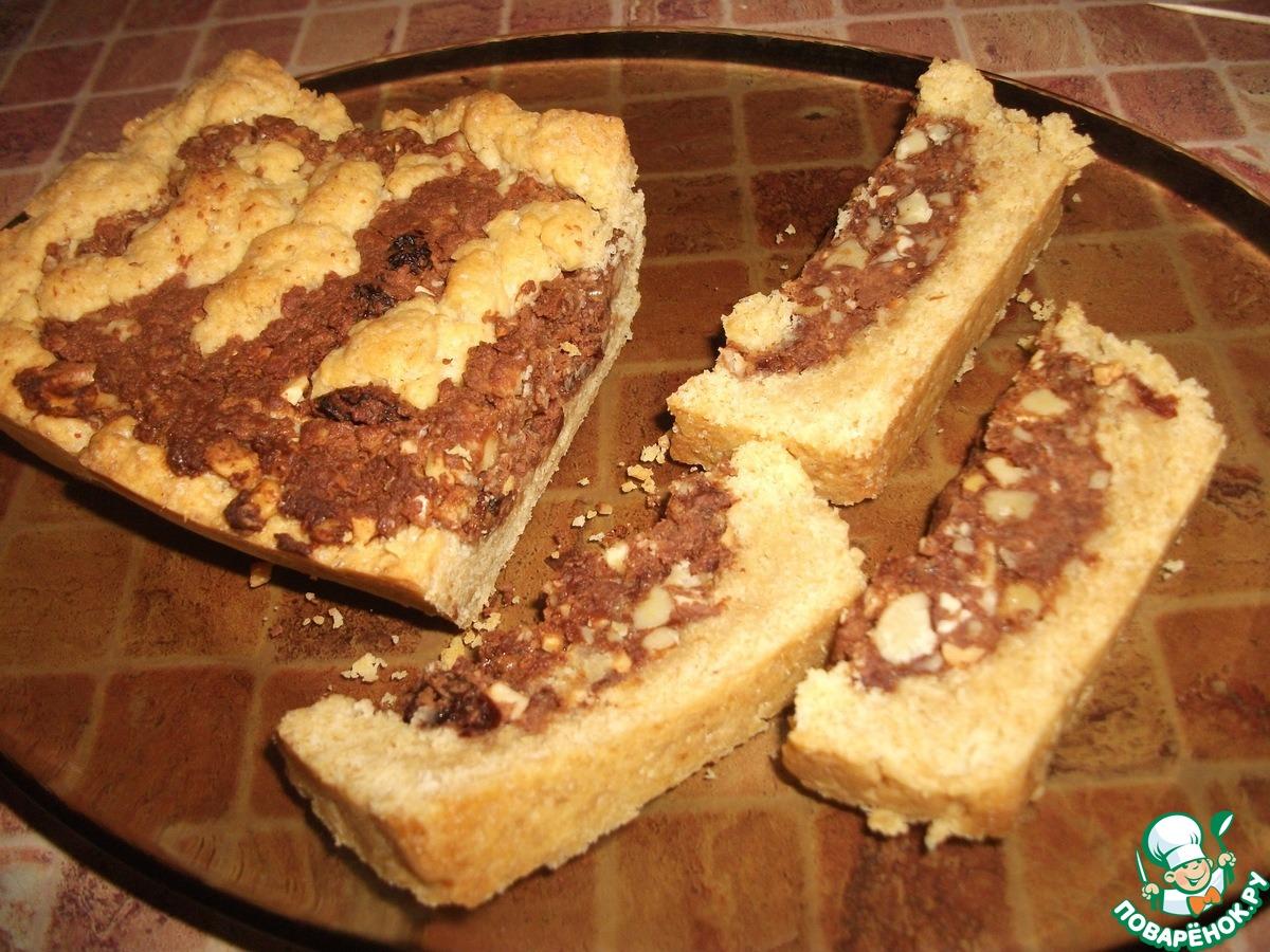 Песочный пирог с начинкой рецепт пошагово