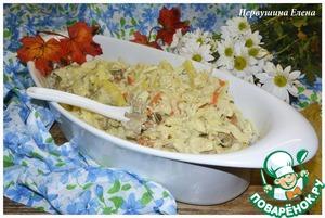 Рецепт Рагу с капустой и курицей в соусе васаби