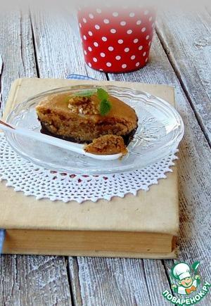 Рецепт Шоколадные тарталетки с ореховой начинкой и карамелью
