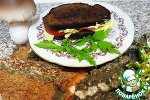 Рецепт Горячие бутерброды из горячей испанской осени