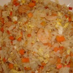 Рис по-китайски с креветками