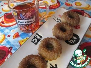 Рецепт Печеные пончики с корицей