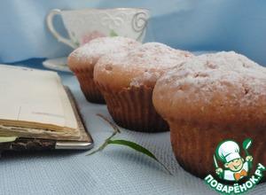 Рецепт Творожно-лимонные кексы с шоколадной каплей