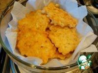 Кукурузные оладушки из кальмара и рыбы ингредиенты