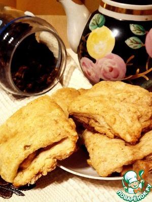 Рецепт Булочки с карамельными яблоками