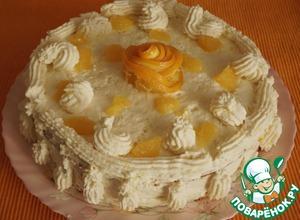 """Рецепт Морковно-апельсиновый пирог-торт """"Рыжий львенок"""""""