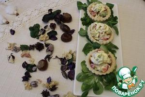 Салат с крабовым мясом №2 домашний рецепт с фото