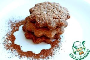 Рецепт Шоколадно-имбирное печенье