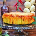 """Запеченный торт из макарон """"Ригатони"""""""