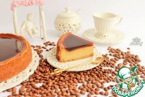 Рецепт Кофейный чизкейк с кофейным желе