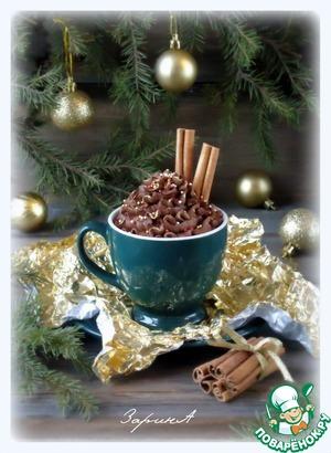 Рецепт Очень быстрый шоколадный мусс