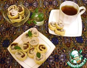 Рецепт Печенье «Фруктовые улитки»