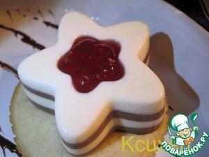 Рецепт Десерт шоколадно-сливочный