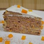 Печеночный торт с тыквой