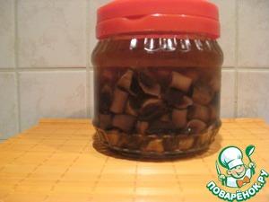 Рецепт Быстрые маринованные грибочки