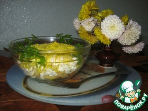 Рецепт Нежный салатик