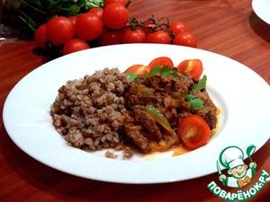 Готовим Тушеная говядина вкусный рецепт с фотографиями