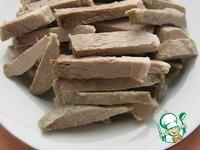 Деревенский свадебный салат ингредиенты