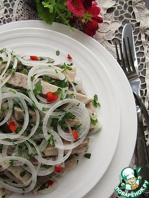 Рецепт Деревенский свадебный салат