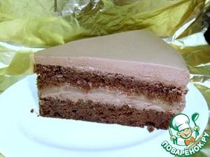 Рецепт Шоколадно-грушевый торт