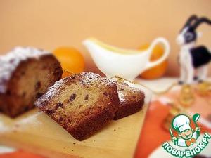Рецепт Имбирный кекс с соусом