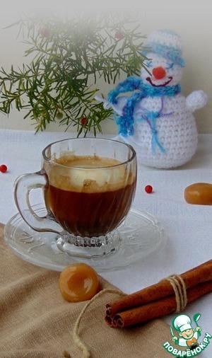Рецепт Кофе с корицей и сливками