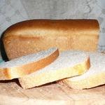 Ячменный хлеб с молоком на закваске