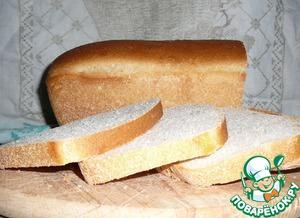 Рецепт Ячменный хлеб с молоком на закваске