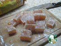 Пряный рахат-лукум с орехами ингредиенты