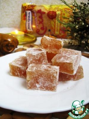Рецепт Пряный рахат-лукум с орехами