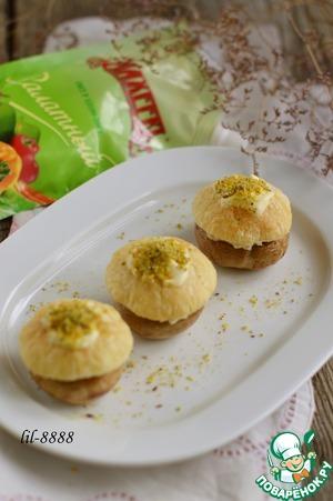 Рецепт Закуска из шампиньонов с курицей