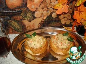 Рецепт Кростини с тунцом