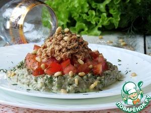 Рецепт Салат с авокадо и тунцом