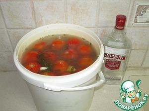 Рецепт Солёные, квашеные помидоры