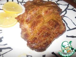 Рецепт Стейки из свинины в духовке