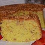 Пирог с оливковым маслом