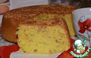 Рецепт Пирог с оливковым маслом