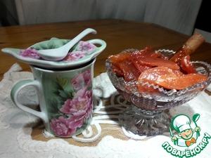 Рецепт Варенье из айвы с корицей