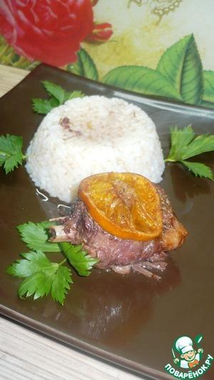 Рецепт Запеченные утиные ножки в пикантном соусе