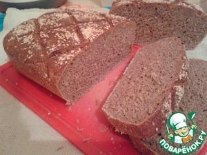 Рецепт Хлеб пшенично-ржаной на закваске