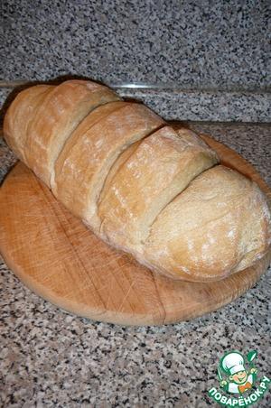 Рецепт Молочный ситный хлеб на закваске